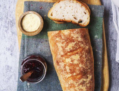 Pane senza glutine con lievito madre di riso