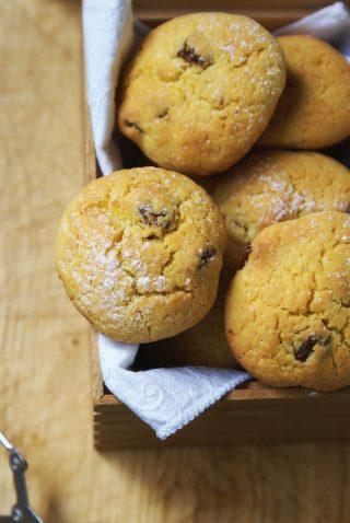 Gluten free raisins cookies