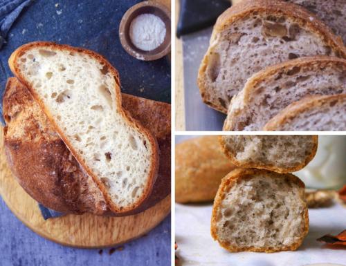 Pane senza glutine: ricetta, varianti e tabella idratazioni