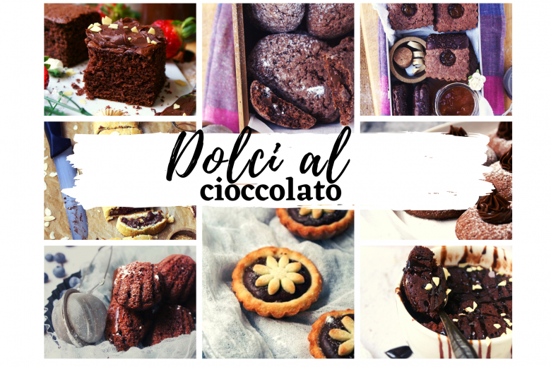 Dolci al cioccolato golosi con e senza glutine