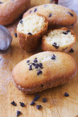 Plumcake con gocce di cioccolato senza glutine cotti nella macchina del pane zeroglu
