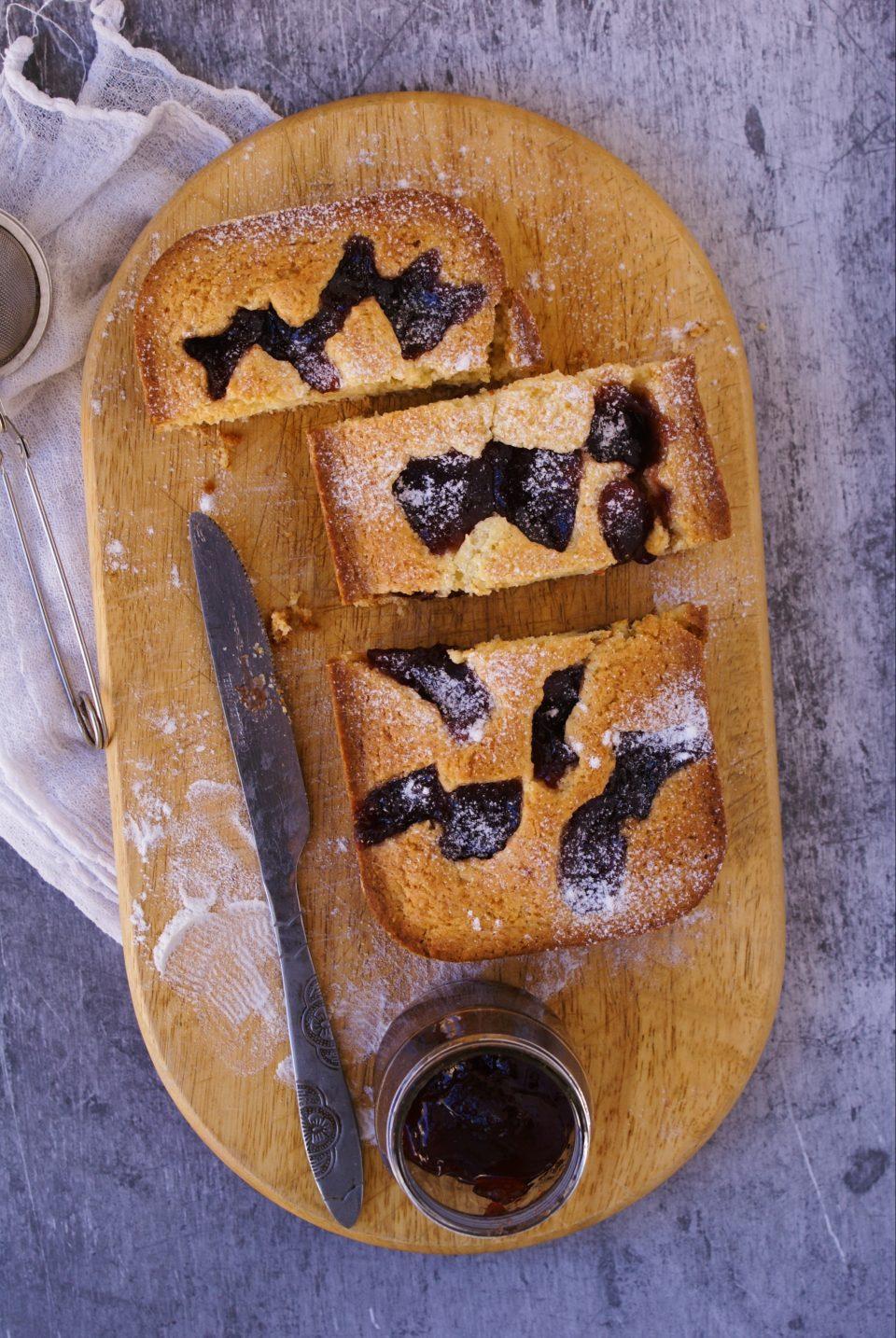Crostata morbida alla marmellata di ciliege senza glutine