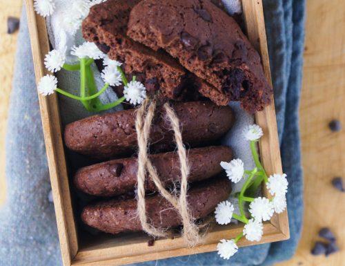 Cookies al cioccolato (anche senza glutine)