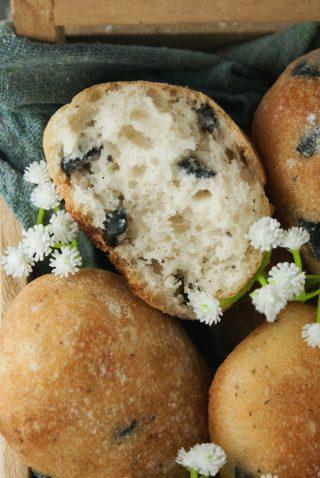 Pucce senza glutine alle olive