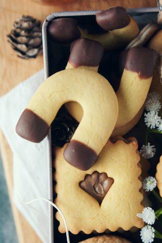 Biscotti con farina di riso e cioccolato senza glutine