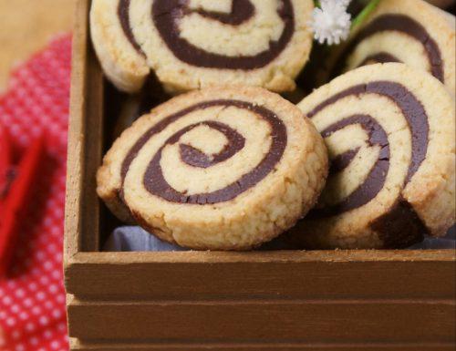 Biscotti bicolore alla Nutella facilissimi